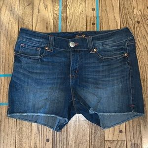 Never Worn Seven Cut-off Jean Shorts